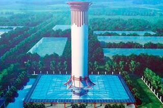 Contra poluição, China constrói megatorre de purificação de ar