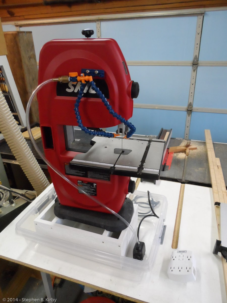 The Sawdust Post Converting A Wood Cutting Band Saw Into