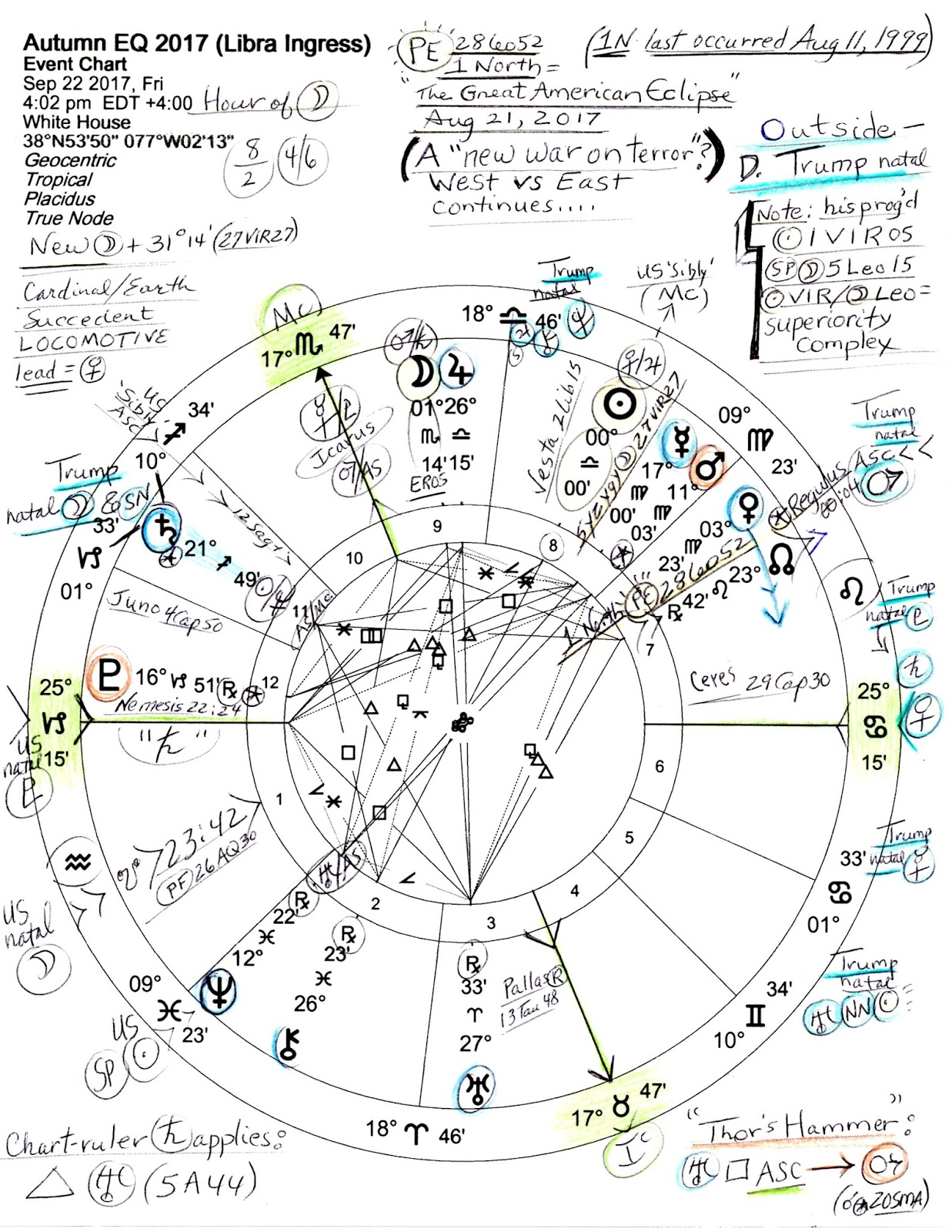 Stars over washington june 2017 autumn equinox 2017 september 22 2017 402 pm edt white house washington dc with capricorn transit pluto asteroid nemesis and us natal pluto rising and geenschuldenfo Image collections