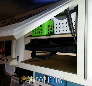 How To Make A Secure Self Latching Cabinet For Computers Or Other Important Things This site is full of great DIY Tutorial by WackyPup Wacky Pup