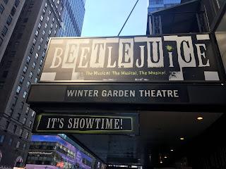 Beetlejuice Marquee Broadway