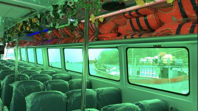 thiết bị an toàn cho khách trong quá trình chạy tàu