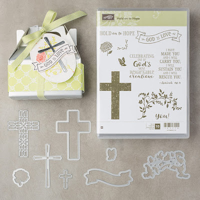 Share Hope in this world with this amazing Stamp Set - get yours  here - http://bit.ly/2JC6NuW