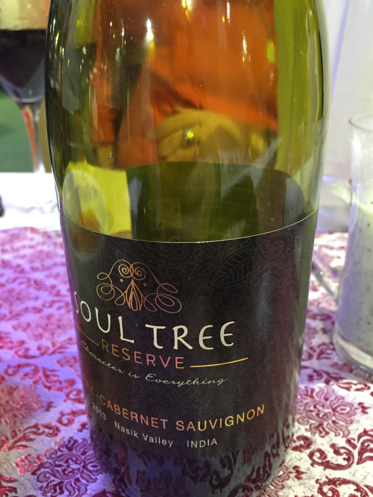 Soul Tree red wine #CookWithHari photo by Modern Bric a Brac