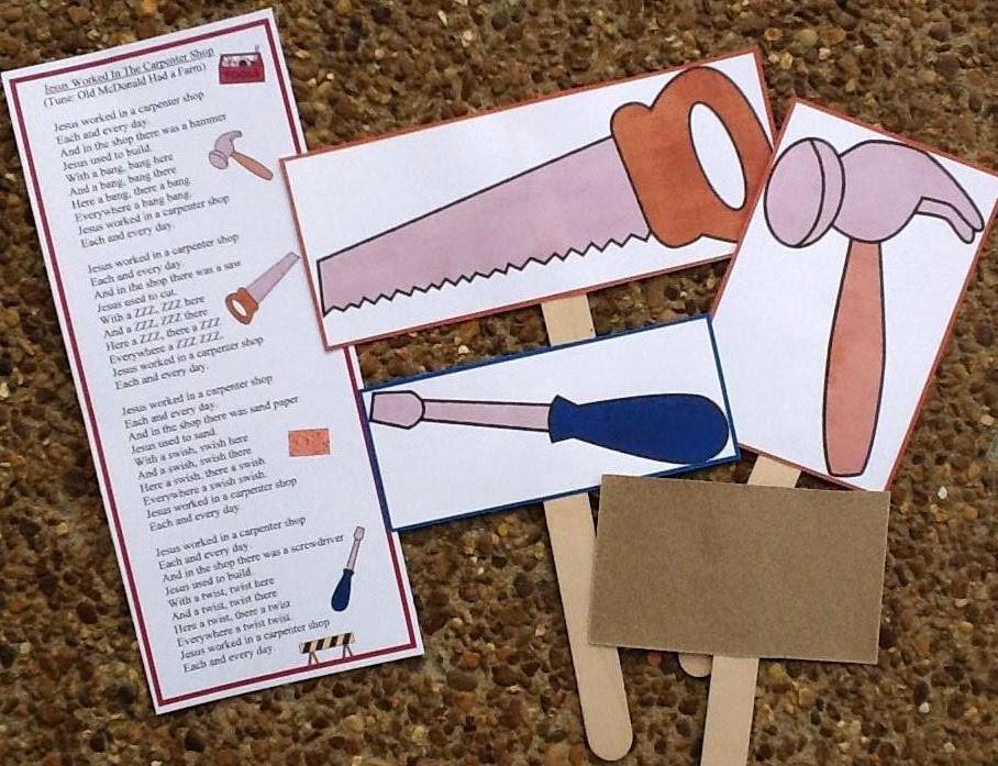 Biblical Crafts For Preschoolers