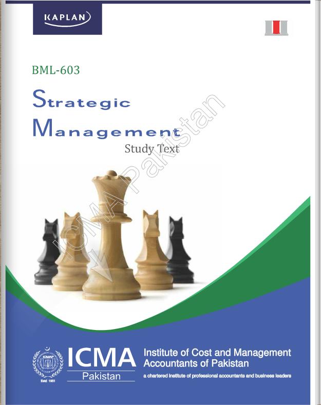 BML-603: STRATEGIC MANAGEMENT