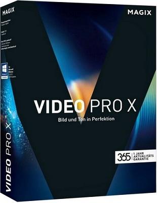 MAGIX Video Pro X8 15.0.3.144 poster box cover