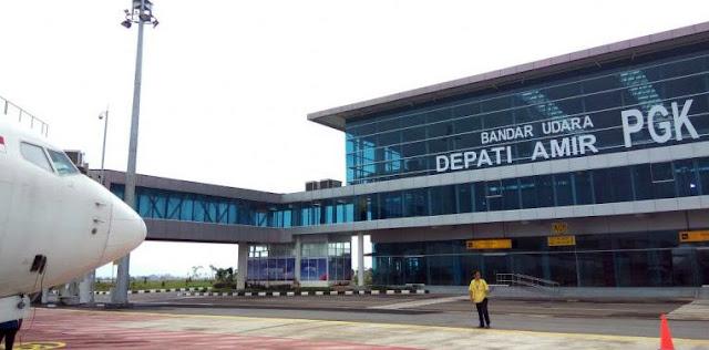 Bandara Bangka Belitung, Depati Amir