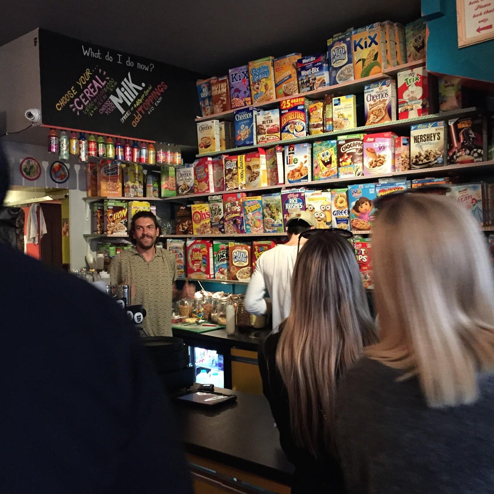 cereal killer cafe in london