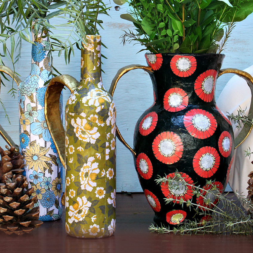 Mark Montano Paper Vases Diy