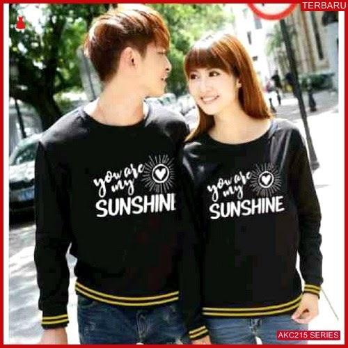 AKC215S56 Sweater Couple Sunshine Anak 215S56 Pasangan BMGShop