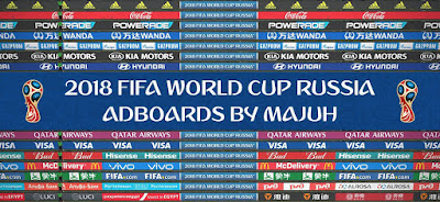 PES 2018 Adboards FIFA World Cup 2018 Russia v1.1 by Majuh