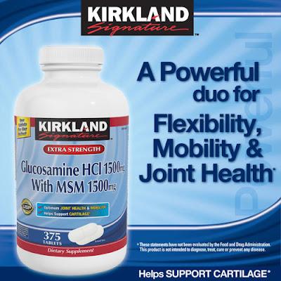 Thuốc Bổ Xương Khớp Kirkland Glucosamine HCl 1500mg 375 viên - TPBS006