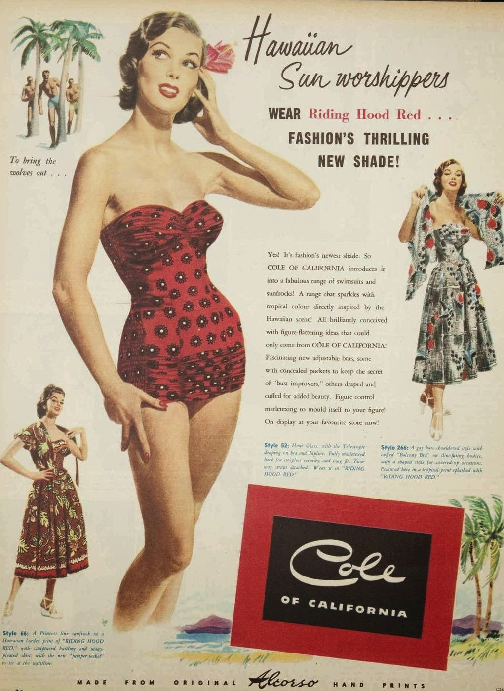 Vintage Fashion Ad 46