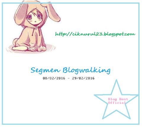 Segmen Blogwalking   Cik Nurul