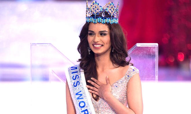 Manushi Chillar Miss World 2018 Photos-Pride of India
