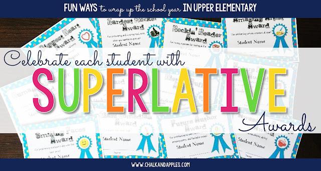 superlatives awards template