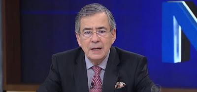 Paulo Henrique Amorim em participação no Programa do Porchat: vítima de um infarto