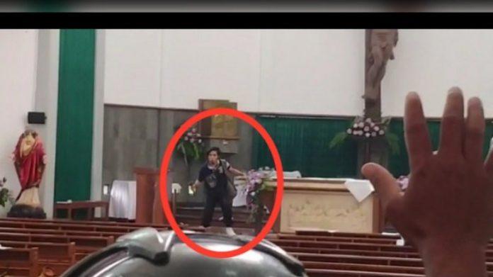 Ternyata Ini Orang yang Menyerang Jemaat Gereja Lidwina Sleman