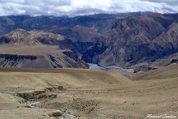 Vista dal Choya La