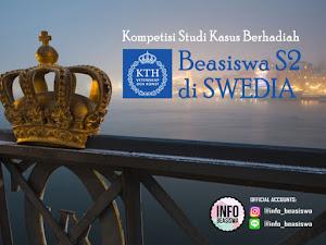 Kompetisi Studi Kasus Berhadiah Beasiswa S2 di Swedia