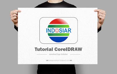 langkahlangkah cara membuat logo indosiar menggunakan