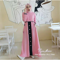 Jual Baju Busana Muslim Tya Dress