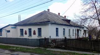 Миргород. Будинок, в якому жили архітектор і мистецтвознавець О. Г. Сластьон і засновник курорту доктор І. А. Зубковський