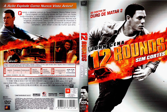 Capa DVD 12 ROUNDS