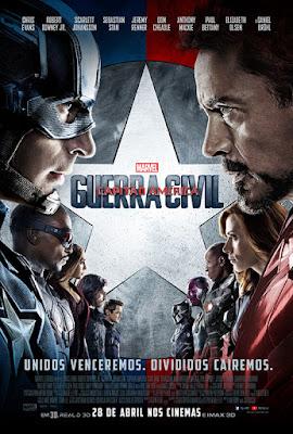 Capitão América - Guerra Civil - Capa