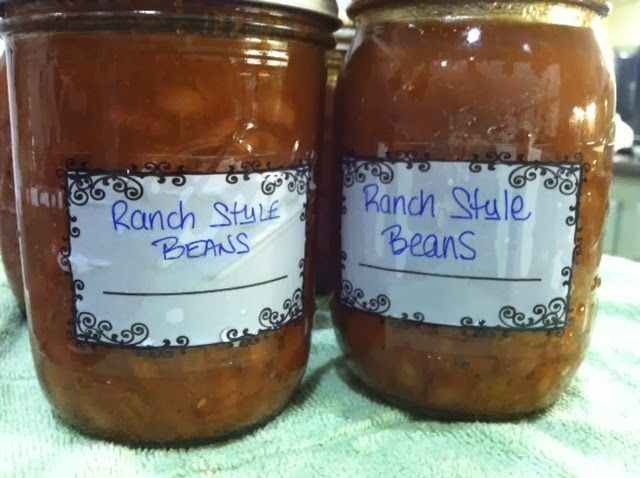 Canning Ranch Style Beans - Canning Homemade!
