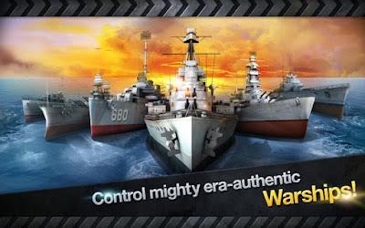 WARSHIP BATTLE : 3D World War II v1.3.8 Apk Mod (Unlimited Money)