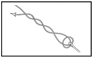 Simpul kuat untuk fluro carbon dan Hollow braided
