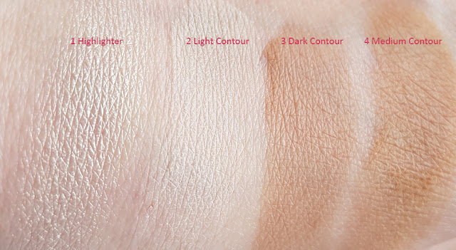 Pupa Milano - Contouring & Strobing Powder Palette