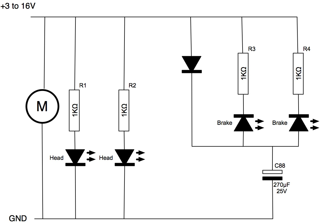 drag race car wiring schematic