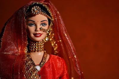 Boneka Barbie  Cantik dari India