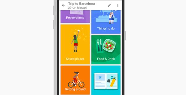 Google測試新App「Trips」,提供旅遊地點資訊導覽