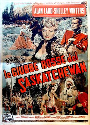 Le giubbe rosse del Saskatchewan 1954