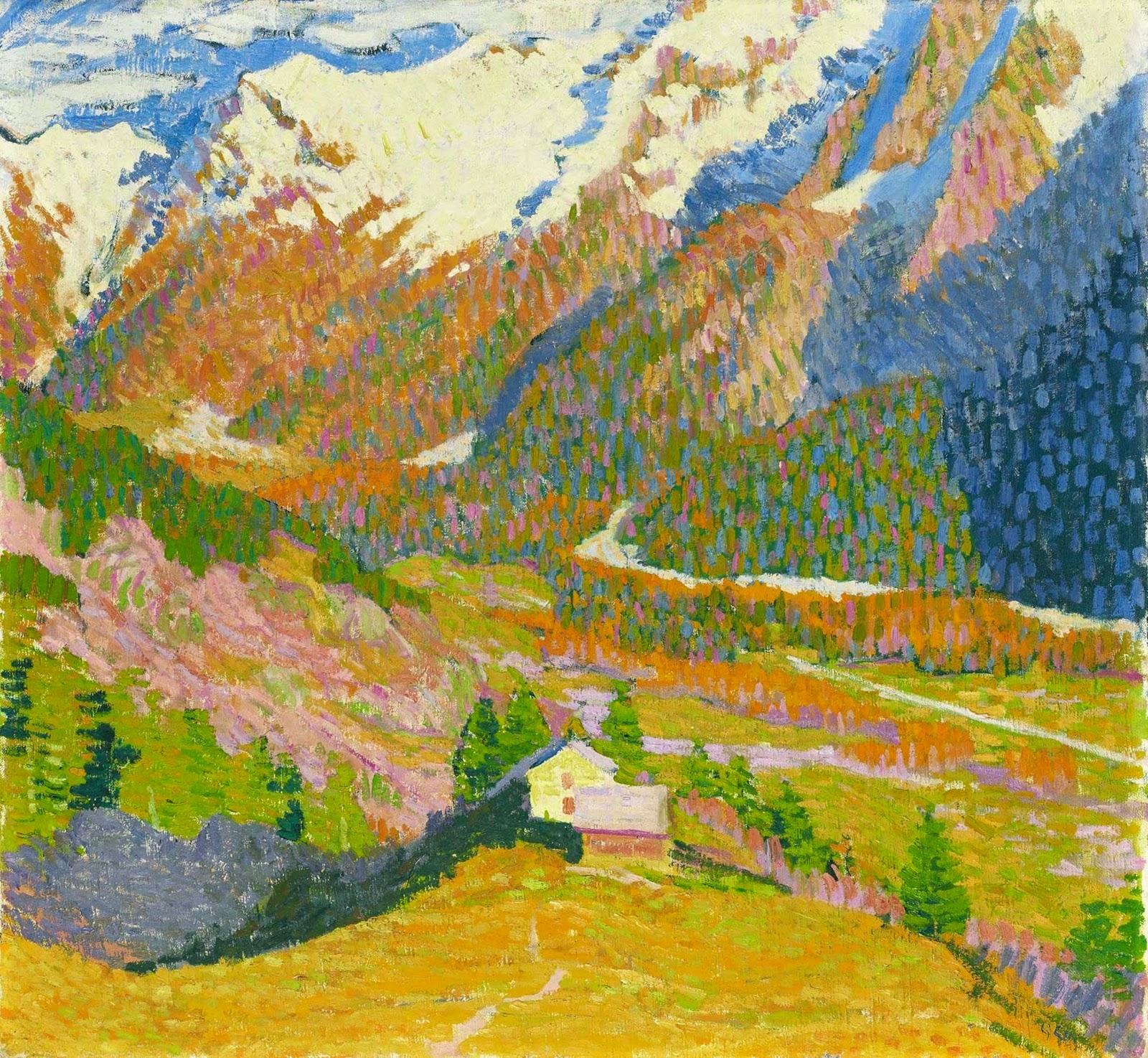 Giovanni Giacometti ~ Post-Impressionist painter | Tutt'Art@ | Pittura • Scultura • Poesia • Musica