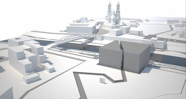 Interaktywne Centrum Historii Ostrowa Tumskiego - wizualizacja