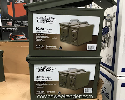 Heritage Metal Ammo Cans comes in 2 sizes: 30 and 50 caliber