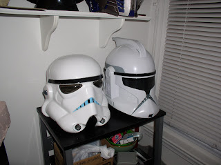 Timbos creations clone trooper helmet the clone wars i already have a clone helmet from episode ii seen below my plans are to make the cartoon version and hopefully introduce myself to molding and casting malvernweather Images