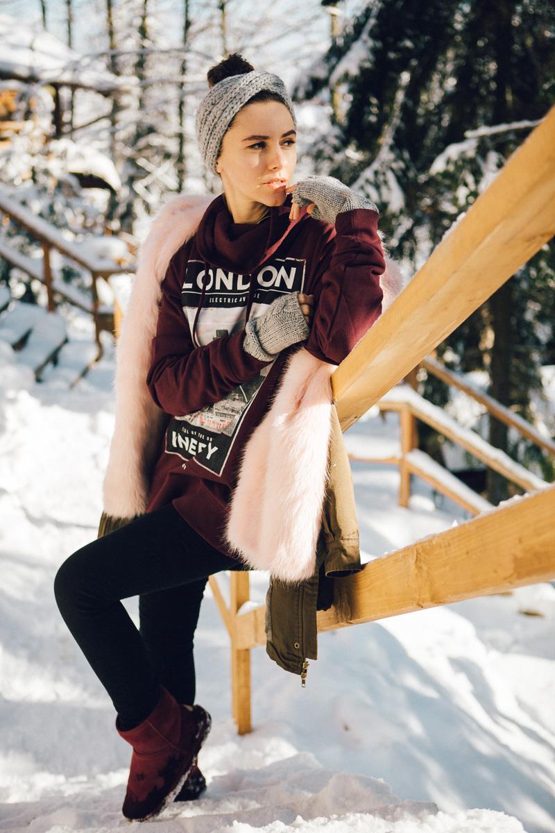 зима мода