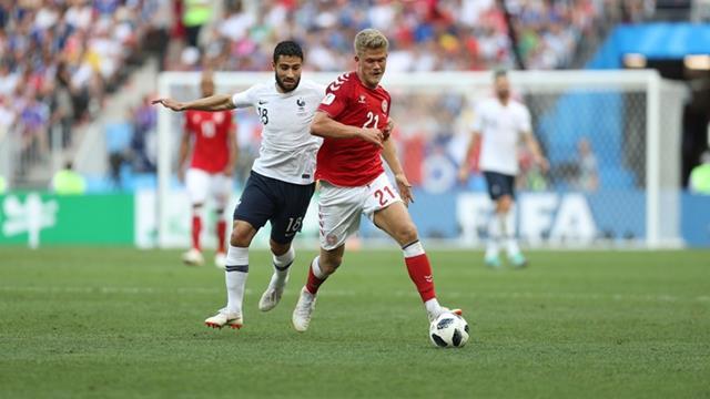 Hasil Pertandingan Denmark vs Prancis - Piala Dunia 2018