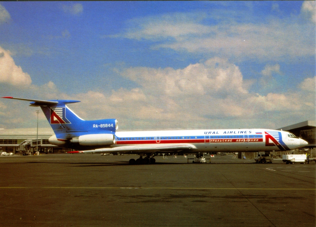 URAL AIRLINES TUPOLEV 154M | UTOPIA AIRPORT