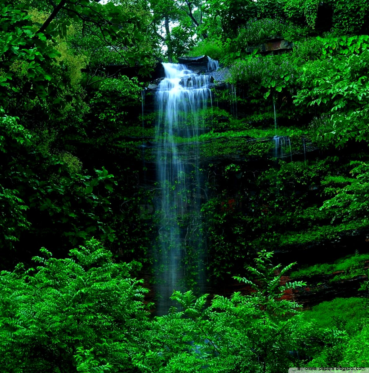 Beautiful Nature Wallpaper For Android: Waterfall Wallpaper Android