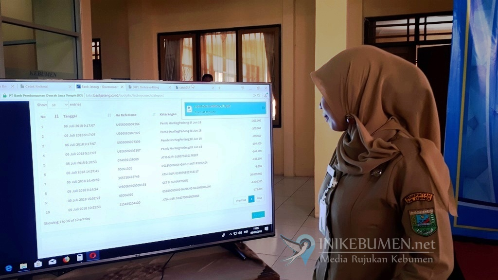 Plt Bupati Kebumen Luncurkan Aplikasi Sibuba
