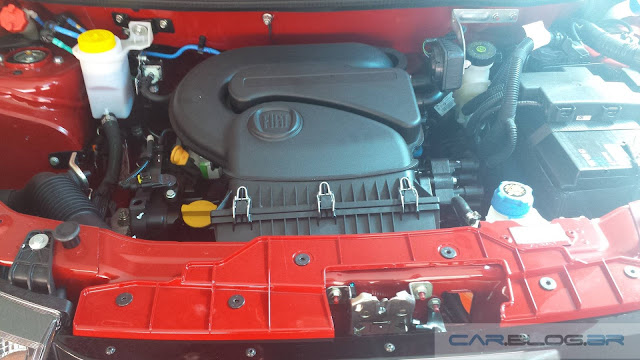 Novo Fiat Mobi Like 2017 - motor