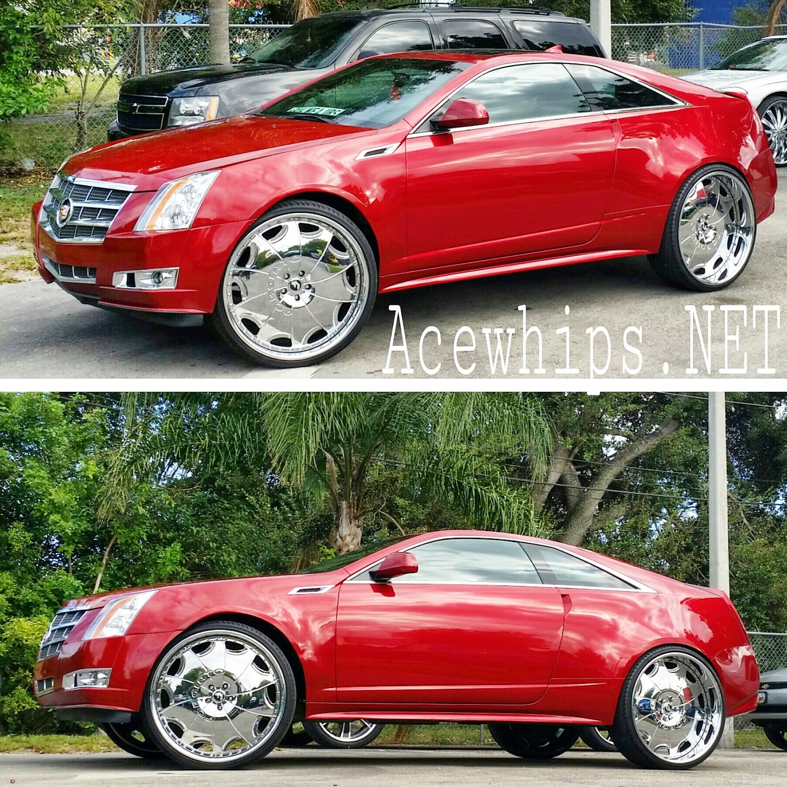 "Ace-1: Moe's Cadillac CTS Coupe On 26"" Emilano Forgiatos"