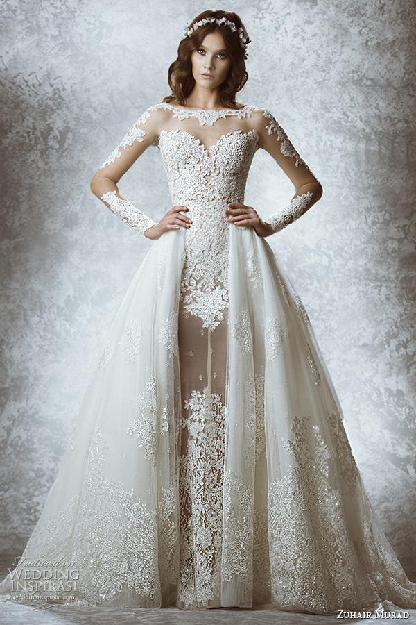 f3655188d657 Hravosť budúcoročných svadobných šiat podčiarkujú aj sukne zložené z  vrstiev rôznych dĺžok.